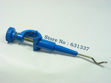 lab suspension holder clamp plastic coated powder coating blue color
