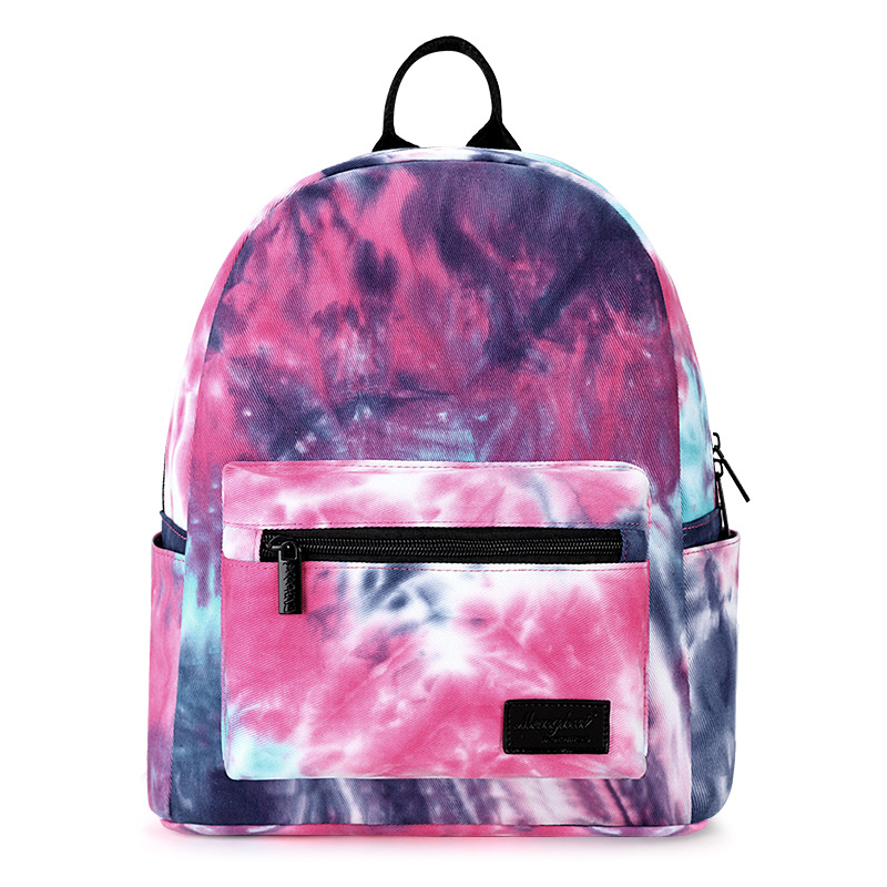 2017 New Koren Style Star Canvas Backpack Multicolor Printing School Bags For Teenage Girls Travel Backpack Mochila Campus Bags<br><br>Aliexpress