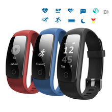 Fitness Band ID107 PLUS Smart Bracelet Bluetooth Smart Band Heart Rate Monitor Multi-sport Caller ID Notifications pk Mi band 2(China)