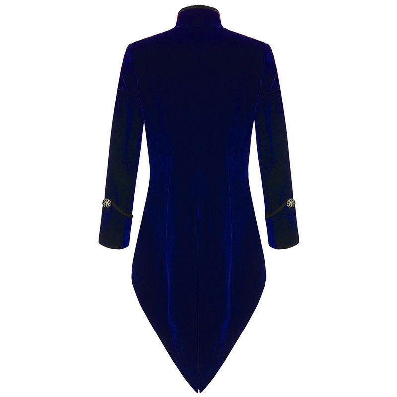 2017-Dark-Blue-Velvet-Coat-Italian-Tailcoat-Mens-Suits-With-Black-Pants-Jacket-Pants-Tuxedos-For