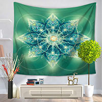 Tapestry-3D-Printed-A-Ring-Of-Light-Green-Plant-150x130cm-150x200cm-Wall-Blankets-Tapestry-Wall-Hanging
