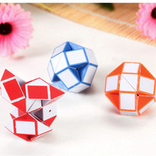 Variety Ruler Magic Cube Puzzle Strange-shaped Magic Ruler Cube Mini Puzzle Educational Toy for Children Special Toys 3 Colors