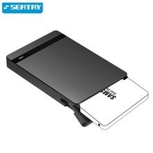 "Sata2 to USB3.0 Tool-free SCREWLESS 2.5""external HDD/SSD case/enclosure SATA III UASP HD hard disk drive for Laptop/Mac/desktop(China)"