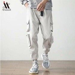 Мужские брюки-карго с карманами