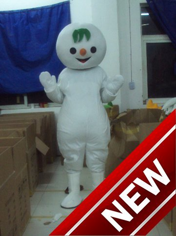 2018 New The Little Snowman Cartoon Character Costume Cosplay Mascot Custom Products Custom Free Shipping