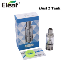 Original Eleaf iJust 2 Atomizer 5.5ml And iJust 2 TC Atomizer Tank Adjustable Airflow EC Head suit for E Cigarette iJust 2 Kit(China)