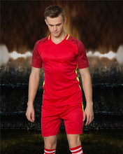 KAWU DIY Soccer jerseys Set (no socks) Sport Running Suit Custom Made two piece Men Football Sport Clothes S17037(China)