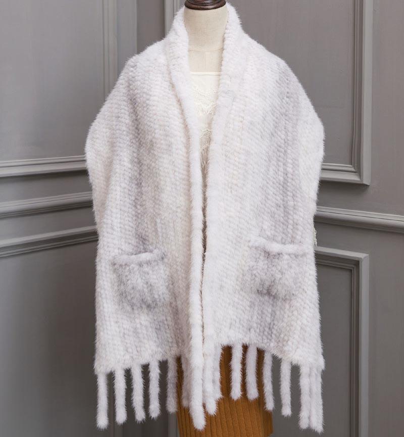 mink shawl 40 cross mink