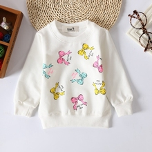 Baby Toddler Kids Girls  Cotton Autumn Spring Tshirts Long Sleeve  Winter Bottoming Shirt 60-95cm 0-3Years Children Clothes G145