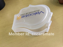 Free Shipping PP Head Shape Medicine Pill Drug Storage Box Case Mini Pillbox Container