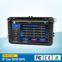 2 Din Car DVD Player For /Volkswagen VW GOLF 6 Polo With GPS Stereo Radio(China)