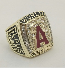 Wholesale Promotion 2002 Los Angeles Angels World Series Baseball Replica High Quality Championship RingS