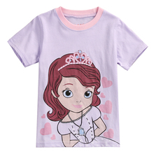 Summer cotton kids t shirt nova baby clothes girls tops cheap retail kids t shirts wholeale tee for child