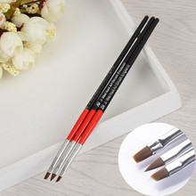 1 Set UV Gel Crystal Brush Set Nail Art Pen Brush Salon Manicure Brush Tools