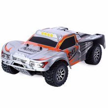 Original Wltoys RC Car A969 1/18 Scale Toys 2.4G 4WD 50km/h RC Drift Short Course Long Distance Control 4-wheel Shock Absorbe(China)