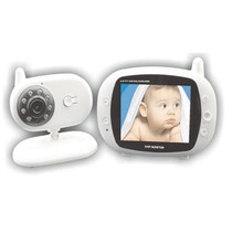 Buy 3.5 Inch Baby Monitor Wireless Infrared Night Vision Intercom Monitors for $84.45 in AliExpress store