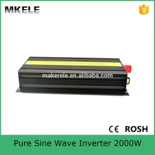 MKP2000-121B 12VDC 110VAC small inverter power inverter 2000 watt pure sine wave type off grid type made in China