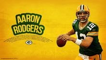 "049 Aaron Charles Rodgers - NFL American Football Quarterback 25""x14"" Poster GB053(China)"