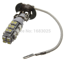 Best Price White H3 28 LED 3528 SMD Car Auto Light Source Headlight Fog Head Signal Lamp Bulb DC12V