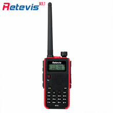 Handy Walkie Talkie Radio Retevis RT5 VHF UHF 5W 128CH Two Way Radio Scanner Frequency Portable Radio Set