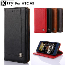 K'try Case For HTC One A9 Case Book Flip Style Mobile Phone Case For HTC A9 5.0inch Wallet Cover