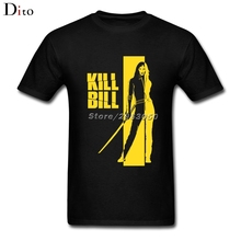 Kill Bill Tee Shirt Men Boy Great Short Sleeve Fashion Custom Big Size Couple T Shirts(China)