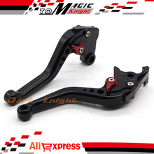 Short Brake Clutch Levers For Kawasaki ZZR1200 2002-2005 High-quality CNC Aluminum Black
