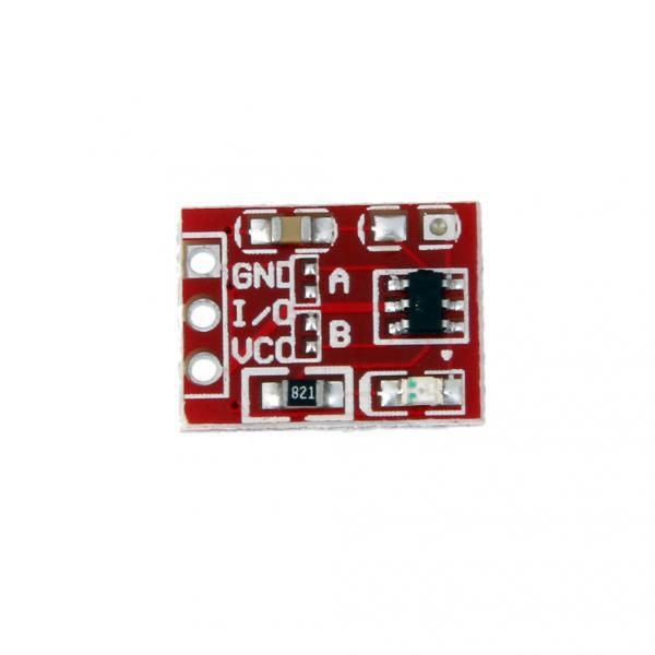 The Best Claite 1pc 2.5-5.5v Ttp223 Capacitive Touch-switch Button Self Lock Module For Arduino Circuits Consumer Electronics