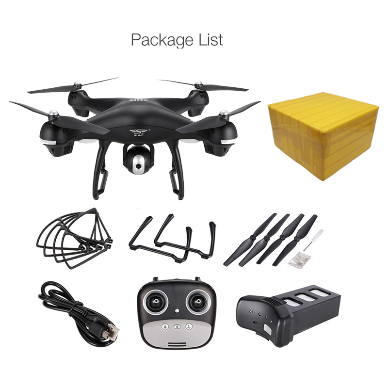 S70W GPS FPV RC Drone with 1080P HD Adjustable Wide-Angle Camera WiFi Live Video Follow Me GPS Return Home RC Quadcopter Dron 20