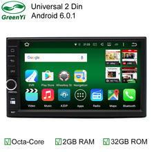 2GB RAM 32GB ROM 4G LET Octa Core 64-bit CPU Android 6.0 Car Tap PC Tablet DVD GPS Radio For Nissan Hyundai Kia Honda Ford