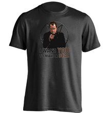 I Want You to Make a Deal Crowley Poster Supernatural Unisex Design T Shirt