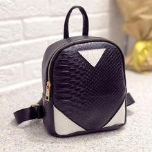 Women Canvas Rucksack concise Serpentine Backpack School Book Shoulder Bag mochila feminina backpacks Ladies school Girls