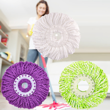 360 Rotating Anti- odor and Anti-mildew Head Easy Magic Floor Spin Mop Bucket Heads Micro Fibers Spinning