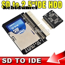 "kebidumei AK SD to IDE 2.5"" 44 Pin Adapter SDHC/SDXC/MMC to IDE 2.5 inch 44pin Male Converter(China)"