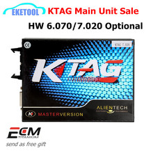 Professional ECU Programming Main Unit KTAG V2.13 HW6.070 New KTAG 7.020 SW2.23 100% J-Tag Compatible K-TAG No Tokens Limited