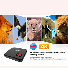 Smart TV Box Player XBMC WiFi Full HD 4K Android 6.0 Quad Core Mini PC Jul4 Professional Factory Price Drop Shipping
