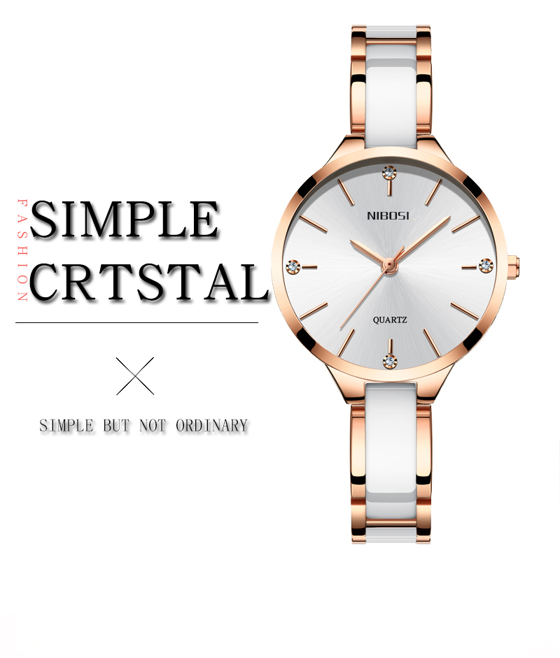 Relogio Feminino NIBOSI Women Watches Waterproof Top Brand Luxury Watch Women With Ceramics And Metal Strap Relojes Para Mujer (1)