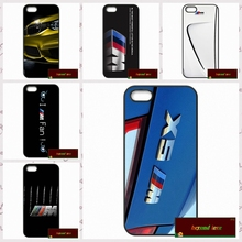 Cover case for iphone 4 4s 5 5s 5c 6 6s plus samsung galaxy S3 S4 mini S5 S6 Note 2 3 4 For BMW M3 M5 M4 Power logo  UJ0036