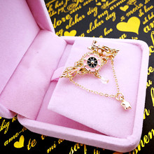 DoreenBeads New Vintage Style Brooches Steampunk Gear Women Men Jewelry Fashion Train Shape Brooch Pins About 4*2*0.5cm 1PC(China)