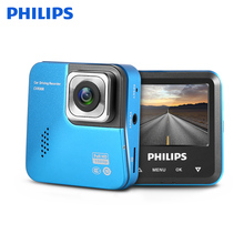Original PHILIPS DC 12 - 24V CVR308 Mini WDR Dash Cam FHD 1080P Night Vision G-Sensor Motion Dection Auto Recorder Parking Monit
