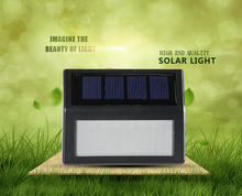 low cost energy saving outdoor waterproof solar front door lamp