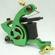 10Pcs/lot Pro Casting Iron Tattoo Machine 10 Wraps coil stainless steel Tattoos Body Art Gun Coil Machine LPC-ITM-7060-4D