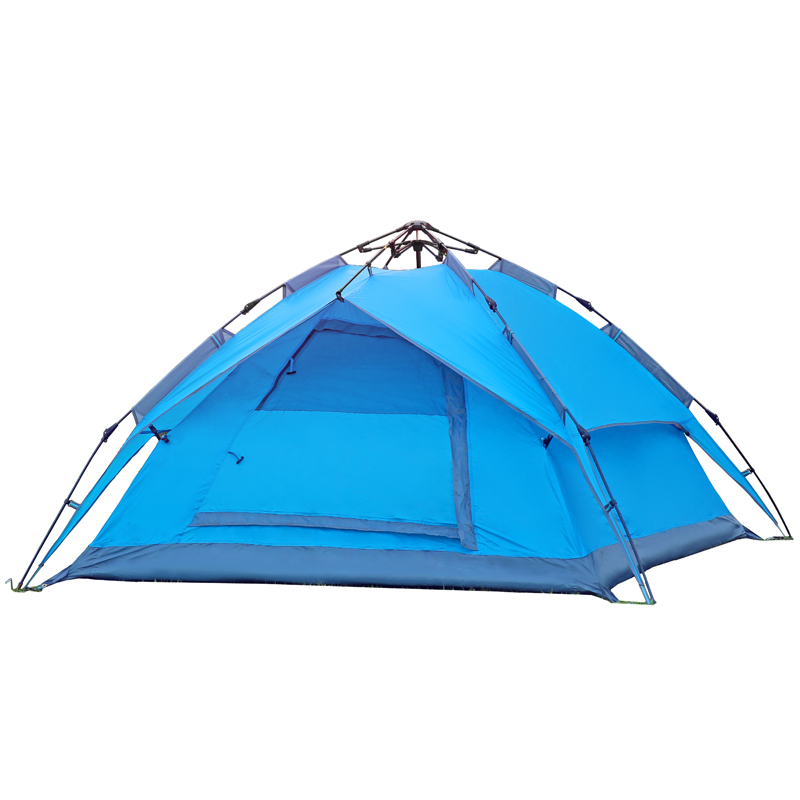 Good quality outdoor automatic camping tent Hydraulic automatic tent double layer 3-4 person winter tent sun shelter gazebo<br><br>Aliexpress