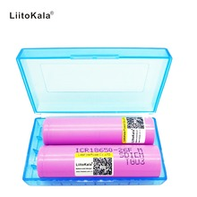 Liitokala 2PCS New 100% Original For Samsung 18650 2600mah rechargeable battery Li ion 3.7 V ICR18650-26F M