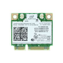 Brand new for intel Dual Band Wireless AC 3160 Intel3160 3160HMW 3160AC 2.4&5G BT4.0 MiniPCIe WiFi Wireless Network Card(China)