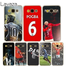 Lavaza Football Paul Pogba Cover Case for Samsung Galaxy A3 A5 J5 2015/2016/2017 Cases for J3 J5 Grand Prime J7(China)