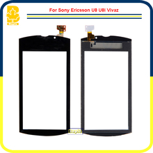 10pcs Phone Parts High Quality 3.2'' Touchscreen Panel Digitizer Glass Lens Sensor Touch Screen For Sony Ericsson U8 VIVAZ PRO