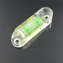 HACCURY 15*15*54MM Square Level Bubble PMMA Material Acrylic Shell Bubble Spirit Level Leveler