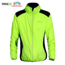 WOSAWE New Men Motorcycle Reflective Safety Vest Car Motorbike Suits for Racing Outdoor Sports  Jackets Coat Green Color
