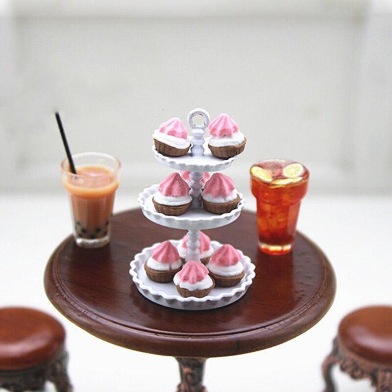 Dollhouse Miniature 1:12 Scale Dolls Plastic Dessert Snack Can Jar Pot  /_CH